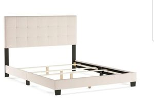 Queen bed frame and headboard for Sale in Puyallup, WA