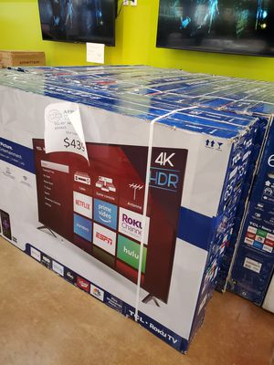 """TCL 65"""" 4K UHD Roku TV for Sale in Anaheim, CA"""
