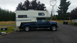 2008 Super Duty with Camper for Sale in Chehalis, WA