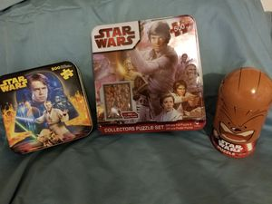 Star Wars Puzzles by Hasbro & Disney for Sale in Scottsdale, AZ