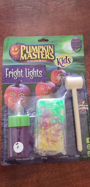 Halloween Fright lights for pumpkins for Sale in Colorado Springs, CO