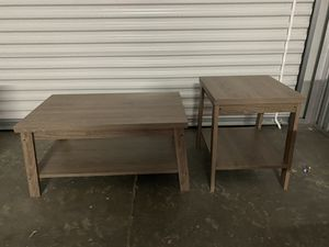 Coffee and End Table for Sale in Alpharetta, GA