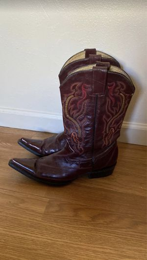 Boots (men) red trival for Sale in Portland, OR