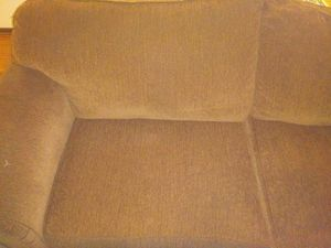Couches one light brown other one a lil darker for Sale in Peoria, IL