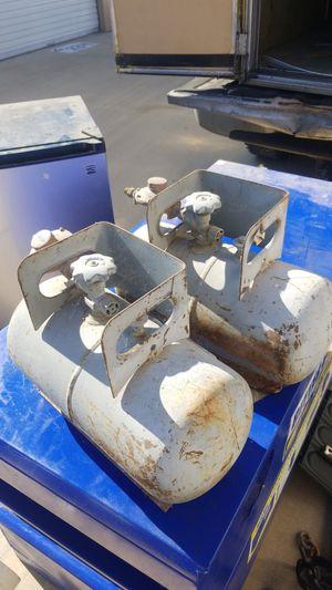 2 propane tanks for Alaskan camper for Sale in Fort Worth, TX