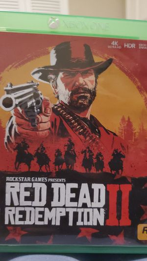 RED DEAD REDEMPTION II (2) XBOX ONE for Sale in Mesa, AZ