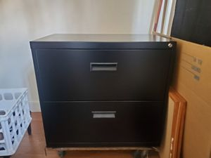 2 drawer file cabinet for Sale in Bessemer City, NC