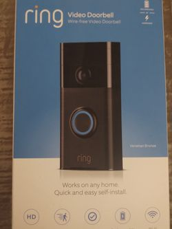 Ring Doorbell (2nd Generation - 2018) for Sale in Yakima,  WA