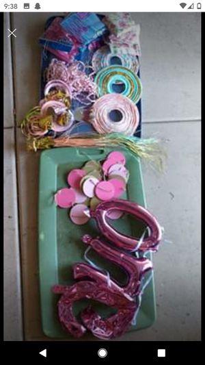 Floral party decor for Sale in Queen Creek, AZ