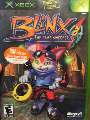 Blinx: The Time Sweeper (Original Xbox / Xbox One) for Sale in Fairfax, VA