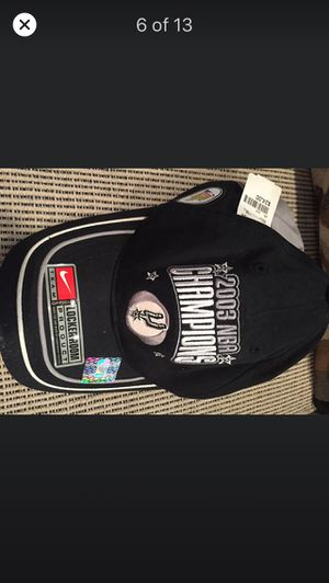 SPURS 2003 NBA CHAMPIONS Collectible Cap - NEW WITH Tags and NEVER Worn!! for Sale in San Antonio, TX
