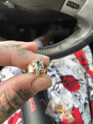 14kt gold ring with .50 ct diamonds for Sale in GRANT VLKRIA, FL