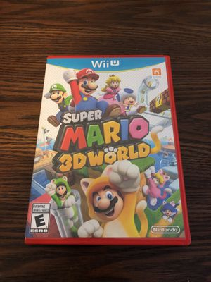 Super Mario 3D World - Nintendo Wii U for Sale in New York, NY