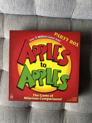 Apples to Apples for Sale in Kenmore, WA