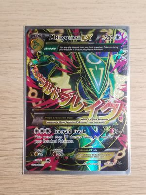 Mega Rayquaza EX, Pokemon card, Mint Sleeved for Sale in Elk Grove, CA