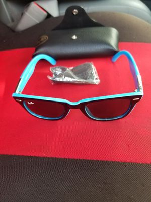 BLUE FRAME RAYBANS for Sale in BELLEAIR BLF, FL