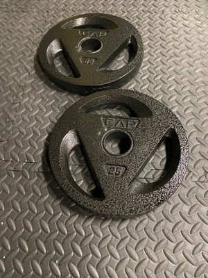 **Olympic Plates 2x25 lbs** for Sale in Lathrop, CA