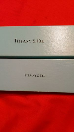Tiffany and Co empty bracelet boxes for Sale in McKeesport, PA