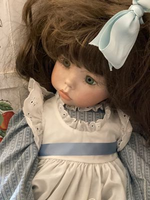 Handmade all porcelain doll for Sale in Mount Airy, MD