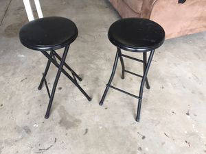 Black stools for Sale in Grover Beach, CA