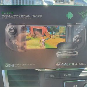 Razer Kishi Controller + Hammerhead Wireless Headphones bundle for Sale in Phoenix, AZ