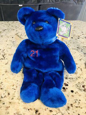 Salvinos Bammer's Sammy Sosa Teddy Bear Stuffed Animal for Sale in Spring Hill, FL