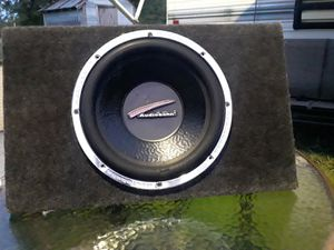 12 inch audiobahn for Sale in Pawhuska, OK