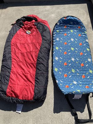 Big Agnes-Little Red 15* Sleeping Bag w/Slumberjack Pad for Sale in Lake Forest, CA