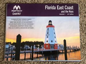 Florida East Cost Map for Sale in Lakewood Ranch, FL
