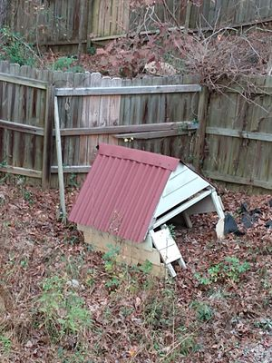 Free roof for project... Wildlife feed station... for Sale in Dallas, GA