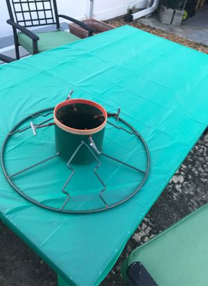 Christmas tree stand for Sale in Tarpon Springs, FL