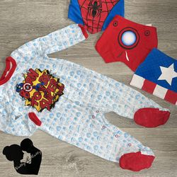 Marvel Baby Boy Footed Sleeper Size 12-18 Months for Sale in Paramount,  CA