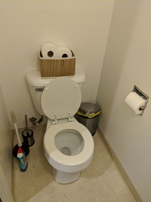 FREE Toilet with installation hardware for Sale in Arcadia, CA