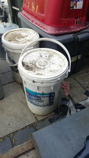 2 buckets of bromine tablets for Sale in Marlborough, MA