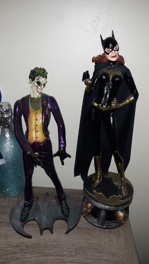 Joker and Batgirl statue for Sale in San Diego, CA