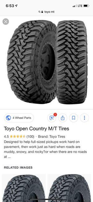 35x1250x17 Toyo MT for Sale in Nuevo, CA