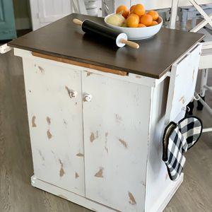 Old Wooden Kitchen Island / Shelf Or Cabinet for Sale in Parker, CO
