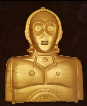 Star Wars C3PO Action Figure Case for Sale in Chandler, AZ