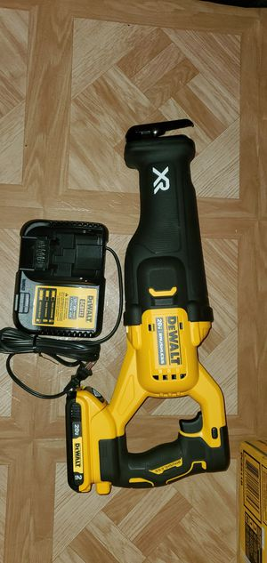Dewalt 20V MAX XR Brushless Cordless Reciprocating saw with (2 Ah) Battery & Charger Firm Price for Sale in Dumfries, VA