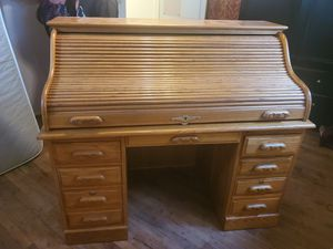 Beautiful roll top desk for Sale in Commerce City, CO