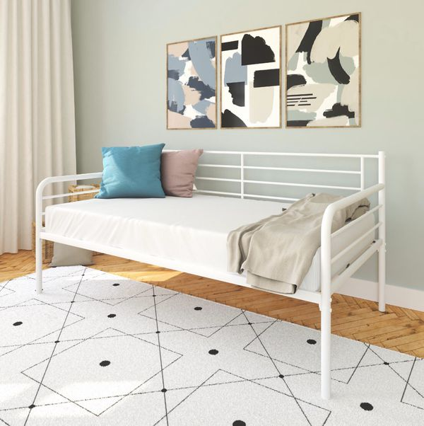 NEW white daybed with trundle