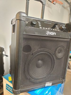 ION SPEAKER for Sale in Santa Cruz, CA