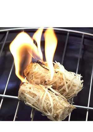 Firestarters 100% Natural,Easy for BBQ & Grill, Campfire, Charcoal, Fire Pit. Waterproof for Indoor/Outdoor Use - 10 Minute Burn for Sale in El Monte, CA
