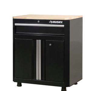 Husky 28 in. W x 33 in. H x 18 in. D 1-Drawer 2-Door Steel Garage Base Cabinet for Sale in Bell Gardens, CA