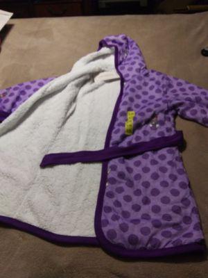 Woodrow &Friends kids sherpa lined Robe for Sale in Belzoni, MS