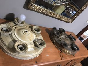 Art Deco 5 socket Metal light fixtures for Sale in Wichita, KS