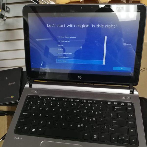 HP probook 4540s Notebook corei3 laptop computer windows 10 WiFi