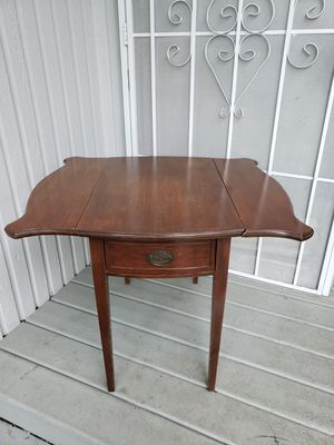 Antique mahogany end table for Sale in Bothell, WA
