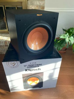 Klipsch R-12SW Sub Woofers 400w Deep Bass / Speaker Cabinet / Mixed Conditions / See Description for Sale in Doral, FL