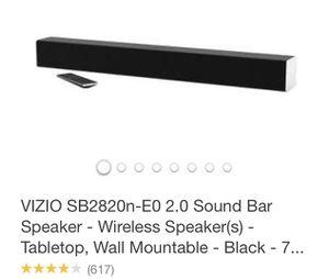 Vizio Sound Bar for Sale in Beaufort, SC
